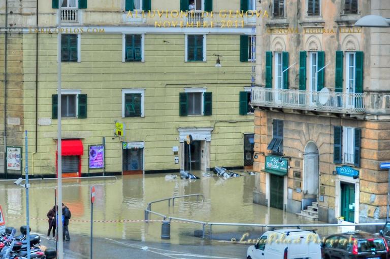 GENOVA Alluvione 4 11 2011 Flood