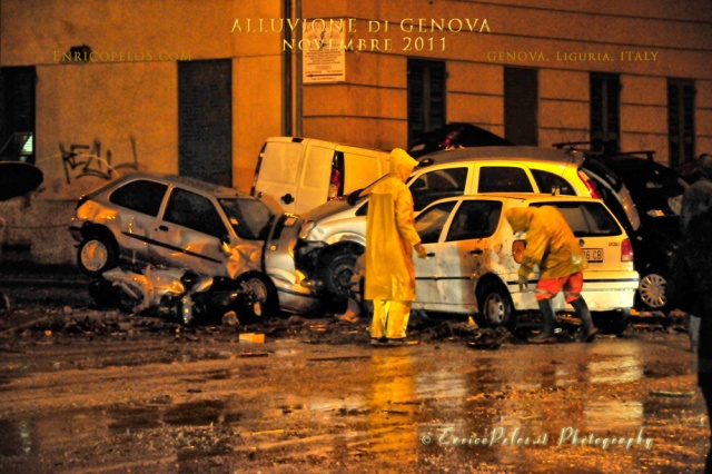 GENOVA Alluvione 4 11 2011 Flood