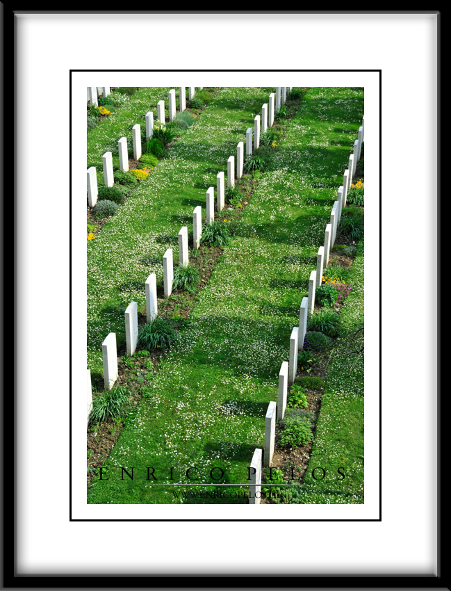 Le Tombe dei Caduti di Guerra Inglesi e Alleati della 2a Guerra Mondiale - The War (IIWW) graves of British and Allied Armies