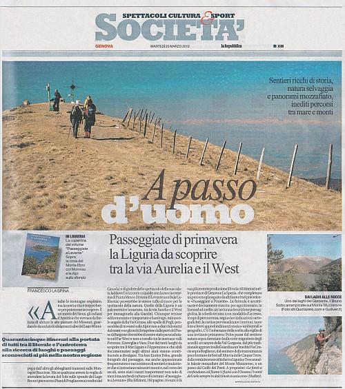 """""""Passeggiate di primavera la Liguria da scoprire tra la via Aurelia e il West"""""""