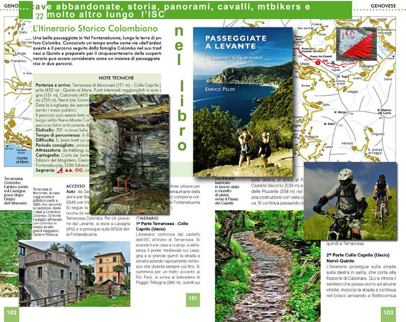 PASSEGGIATE A LEVANTE: ISC Itinerario Storico Colombiano, cave abbandonate, storia, panorami, cavalli, mtbikers e molto altro...