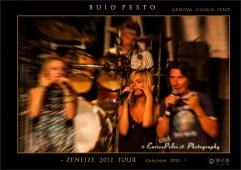 BUIO PESTO Garlenda concert on the 26th of July 2012