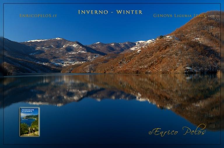 lago del brugneto paesaggio invernale - lake wintery landscape 1392 - ph enrico pelos