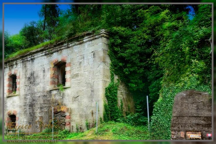 FORTI del GIOVO LIGURE: FORTE TAGLIATA