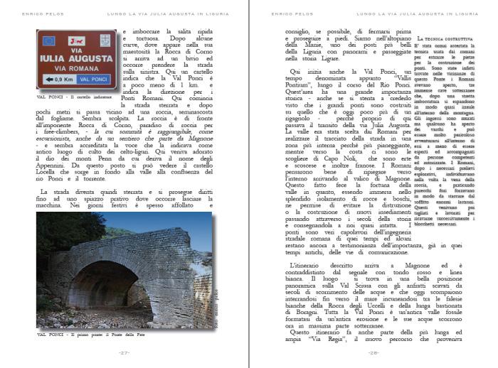 lungo la via julia augusta roman road page 2 - testo foto carte publishing by enrico pelos