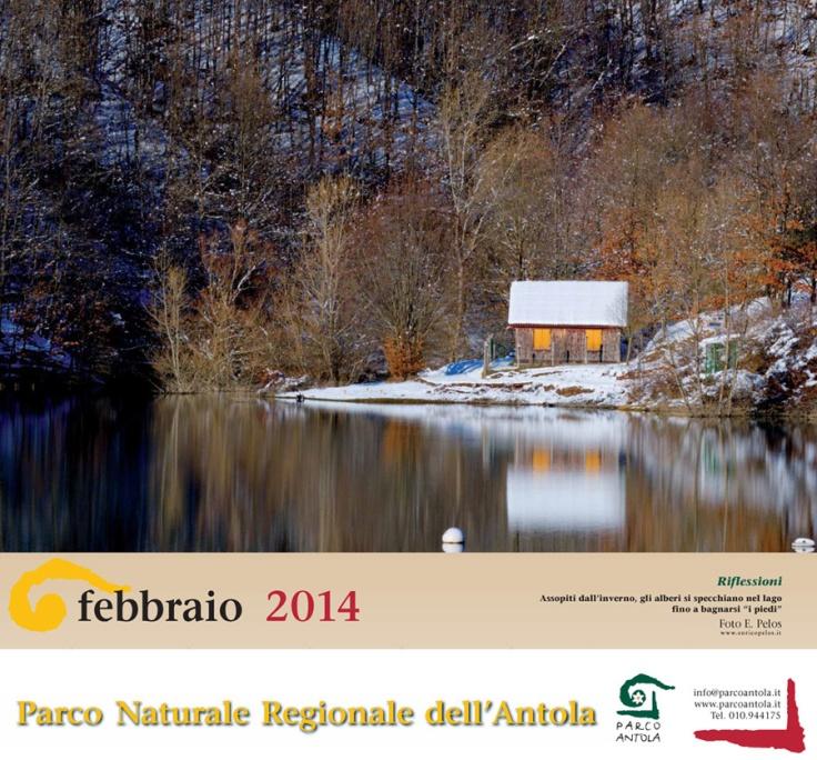 Parco Antola CALENDARIO 2014 mese febbraio - ph enrico pelos