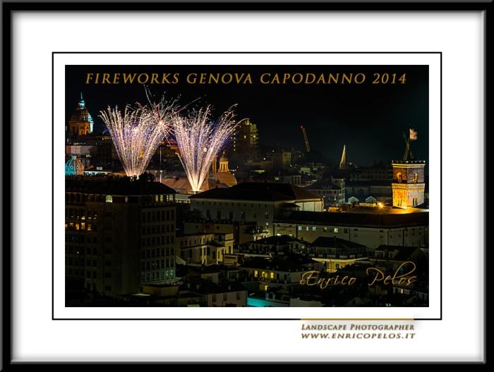 FIREWORKS GENOVA 2014 NEW YEAR'S EVE - FUOCHI ARTIFICIALI a GENOVA CAPODANNO 2014
