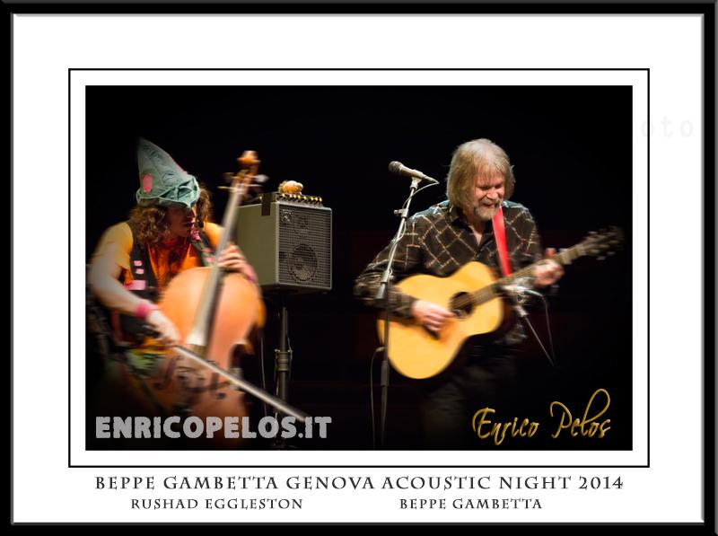 BEPPE GAMBETTA GENOVA ACOUSTIC NIGHT 2014