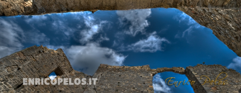 castle walls with sky - ph enrico pelos