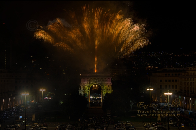 FIREWORKS GENOVA FUOCHI ARTIFICIALI a GENOVA NATALE 2014 - FIREWORKS GENOA CHRISTMAS 2014