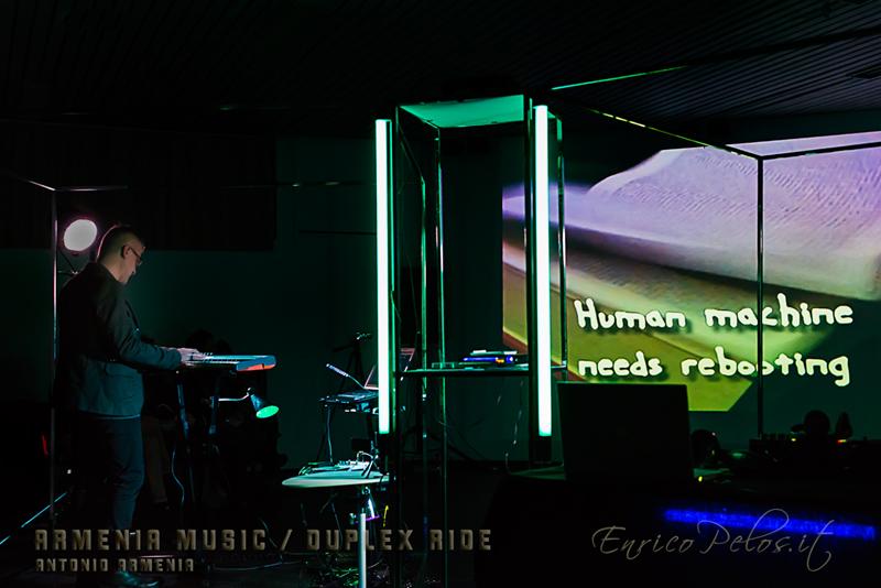 ARMENIA MUSIC - DUPLEX RIDE - CENTRO BURANELLO GENOVA 10 1 2015