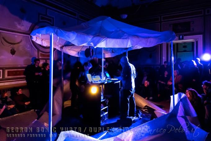 GEDRON SONIC YURTA MUSIC - DUPLEX RIDE - DUPLEX RIDE - VILLA CROCE GENOVA 28 2 2015