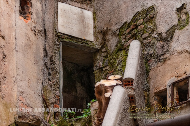 LUOGHI ABBANDONATI - ABANDONED PLACES dell'ACQUEDOTTO STORICO DI GENOVA http://www.enricopelos.it http://www.luoghiabbandonati.it https://www.facebook.com/LuoghiAbbandonatiAbandonedPlacesByEnricoPelos © Enrico Pelos | enricopelos.it write to the Enrico Pelos enricopelos@alice.it for the use of these photos scrivere a Enrico Pelos enricopelos@alice.it per l'uso di queste foto