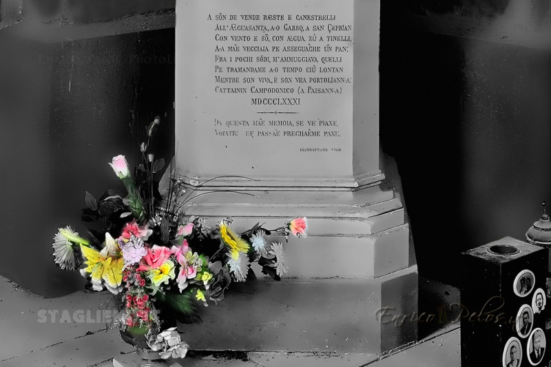 STAGLIENO... but not only... Staglieno borough of Genoa, Staglieno  Monumental cemetery of Genoa, ... but not only... https://www.facebook.com/staglienobyenricopelos http://www.staglieno.it http://www.enricopelos.it © Enrico Pelos | enricopelos.it write to the Enrico Pelos enricopelos@alice.it for the use of these photos scrivere a Enrico Pelos enricopelos@alice.it per l'uso di queste foto